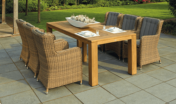 Patio design great for entertaining