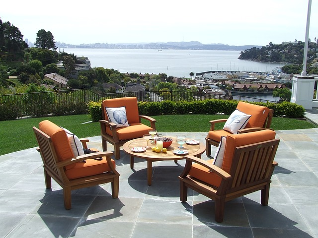 Patio designs that feature a stunning view